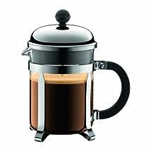 Bodum Chambord 4 cup French Press Coffee Maker 17 oz Chrome