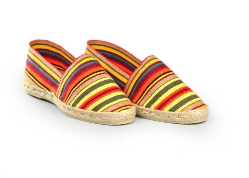 Espadrille-homme-raye-fabrication-artisanale-made-in-pays-basque-france