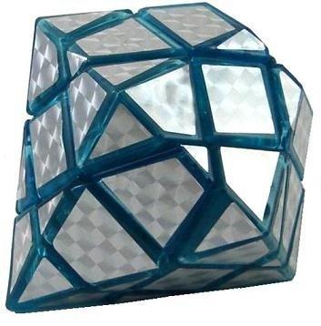Cheap WeiChi Toys Blue Transparent Diamond Brain Teaser Puzzle Cube (B0055Q0EZA)