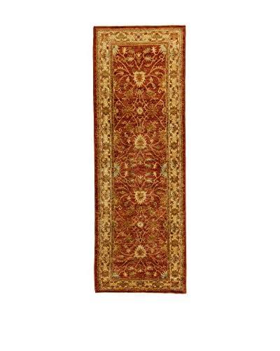 L'Eden del Tappeto Alfombra Agra Beige / Marrón 253t x t85 cm