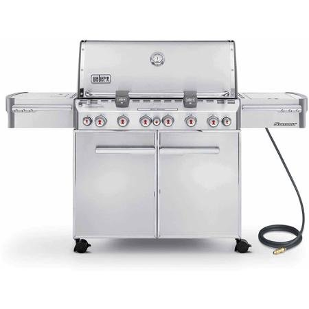 Weber Summit S-670 Natural Gas Grill, Stainless