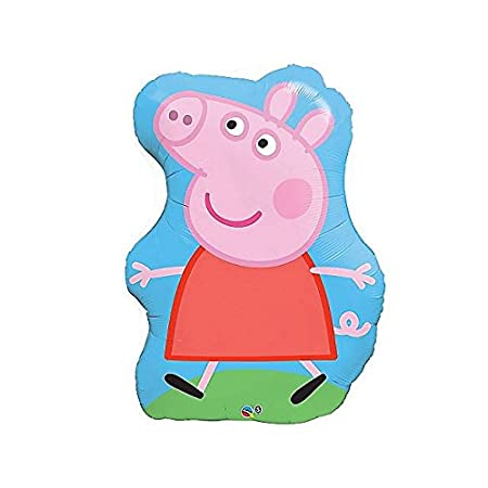 "This is a Supershape Ballon of Peppa Pig, the TV show loved by kids of all ages. Great for parties. 35"" balloon"