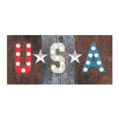 Ohio Wholesale Radiance Lighted USA Wall Art