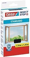 tesa Standard / 55671-00021-02 Moustiquaire pour fenêtre Anthracite (Import Allemagne)
