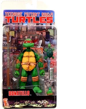Picture of NECA Teenage Mutant Ninja Turtles NECA Comic Style Action Figure Donatello (B0017371EC) (TNMT Action Figures)