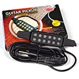アコースティックギターをエレアコに!穴開け加工不要 ギター・ピックアップ