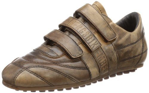Bikkembergs SOCCER 44A LEATHER TAMP.TDM Low Unisex-Child Brown Braun (Tdm) Size: 33