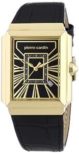 Pierre Cardin Herren-Armbanduhr Baron Analog Quarz Leder PC104141F03