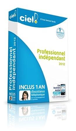 Ciel Professionnel Indépendant 2012 + 1 an d'assistance téléphonique
