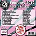 All Star Karaoke February 2012 Pop and Country Hits (ASK-1202) by All Star Karaoke
