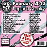 All Star Karaoke February 2012 Pop and Country Hits (ASK-1202)