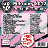 Christina Perri - All Star Karaoke February 2012 Pop and Country Hits (ASK-1202) - Zortam Music