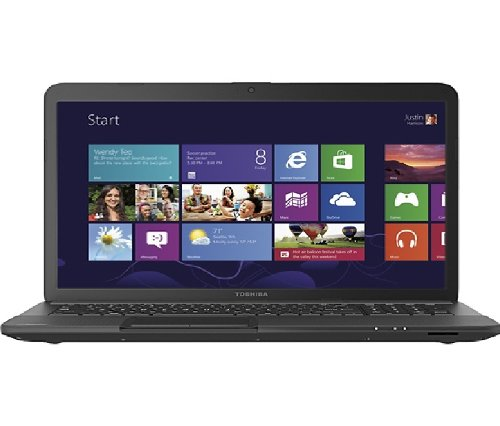 Toshiba Satellite C675-S7106 Laptop Computer / 17.3-inch HD Display Screen / Intel Core i3-2350M 2.3GHz Processor / 4GB DDR3 RAM Memory / 500GB Hard Drive / Double-layer DVD±RW / 6-cell Battery / Windows 7 Home Premium / Black