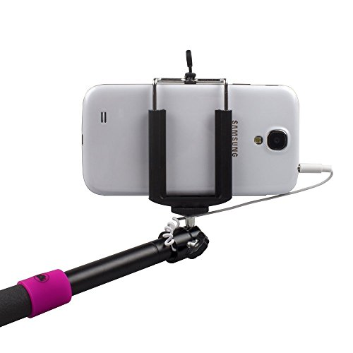 selfie stick quicksnap pro 3 in 1 self portrait monopod extendable wireless b. Black Bedroom Furniture Sets. Home Design Ideas