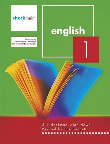 Checkpoint English: v. 1