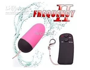 Wireless Remote Control Vibration Egg Bullet Vibrator from Sextoys