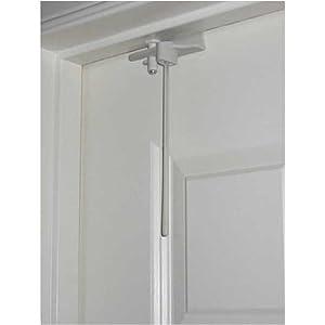 child proof deluxe door top lock toys games. Black Bedroom Furniture Sets. Home Design Ideas