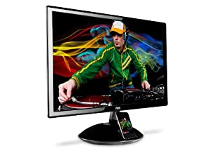 AOC E2343FI 23 - Inch Widescreen LED Monitor with iPhone/iPod Docking Station and SRS Premium Sound Speakers - Black