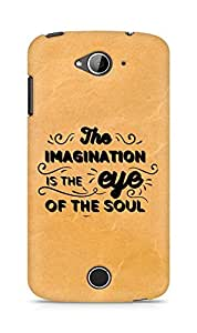 Amez The Imagination is the Eye of the Soul Back Cover For Acer Liquid Z530
