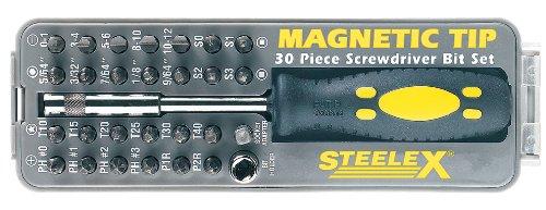Steelex D2032 Magnetic Tip Screwdriver Bit Set 30-PieceB0000DD6TB : image