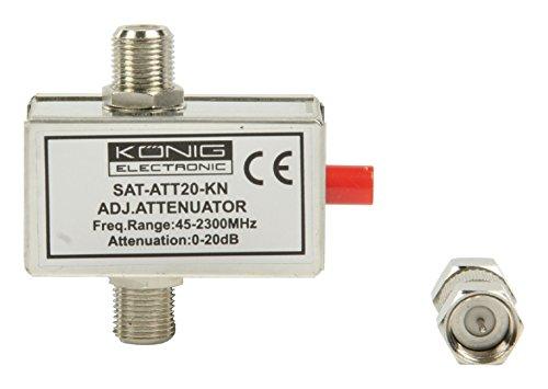 König SAT-ATT20-KN Atténuateur 20db + DC Pass