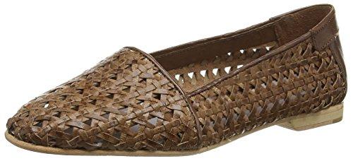 HudsonCoco - Pantofole donna , Marrone (Marrone (Tan)), 36