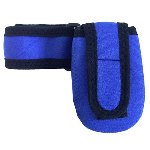 Intrepid International Cell Phone Holder, Blue