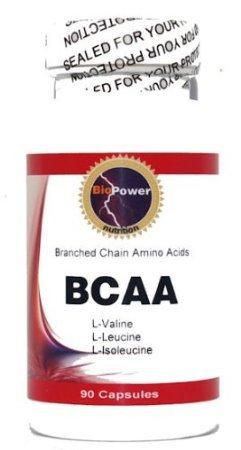 BCAA # 180 Capsules Branched Chain Amino Acids L-valine L-leucine Isoleucine (2 Bottles)