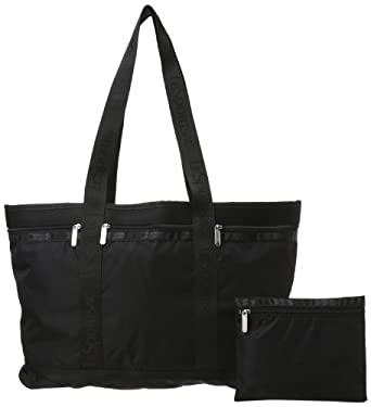 LeSportsac Large Travel Tote,black,one size