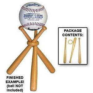 Miniature Natural Wood Crafted Baseball Bats Base Ball