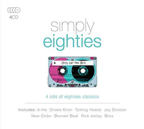 simply eighties - 4 CD box set (2016)