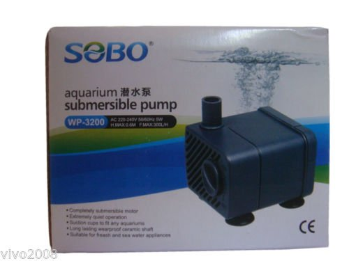 Ocean Wave Submersible Water Pump Power Head 5W for Fish Aquarium and Home Fountains Imported  available at amazon for Rs.295