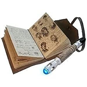 Doctor Who the Journal of Impossible Things and Tenth Doctor's Sonic Screwdriver