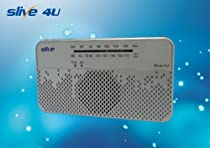 Slive-4U -- A Self-powered Radio, USB Charger, Smart Phone Charger, Auto Emergency Light, Flashlight, AM/FM, NOAA Weather Radio and Siren All in one portable device
