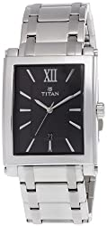 Titan Tycoon Analog Black Dial Mens Watch - NE9327SM02A