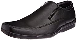 Bata Mens Solace Black Formal Shoes - 7 UK (8516344)