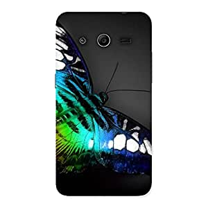 Gorgeous Butterflie Power Multicolor Back Case Cover for Galaxy Core 2