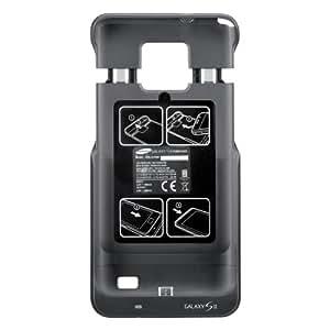 Samsung Power Pack (EEB-U20B) - Carcasa con batería extra integrada para Galaxy S II i9100 (1300 mAh) [importado]