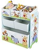 Disney Winnie the Pooh Multi-Bin Toy Organizer
