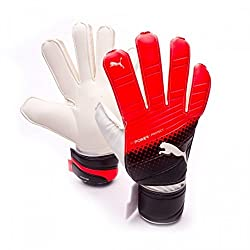 PUMA EVOPOWER GRIP 3.3 RC FOOTBALL GK GLOVES- BLACK/RED BLAST