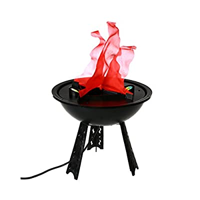 Halloween Decorations Fire Pit Lamp Props 118 by ignislife.co,LED