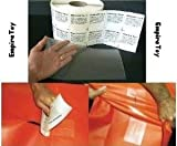 RV Camper Awning Canvas Cloth Tent Hole Repair Patch - Tear Aid 6