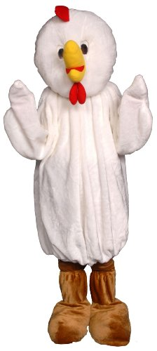 Chicken Economy Mascot Costume
