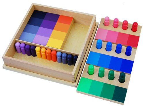 Montessori Color Resemblance Sorting Task - 1