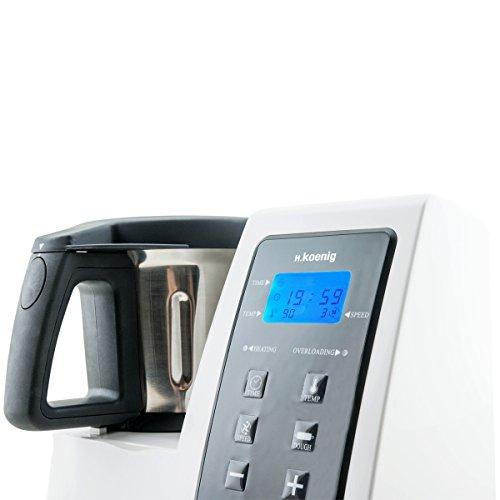 H koenig hkm1028 robot per cucinare e riscaldare ebay - Robot per cucinare ...