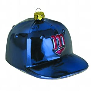 MLB Baseball Cap Ornament MLB Team: Minnesota Twins by SC Sports