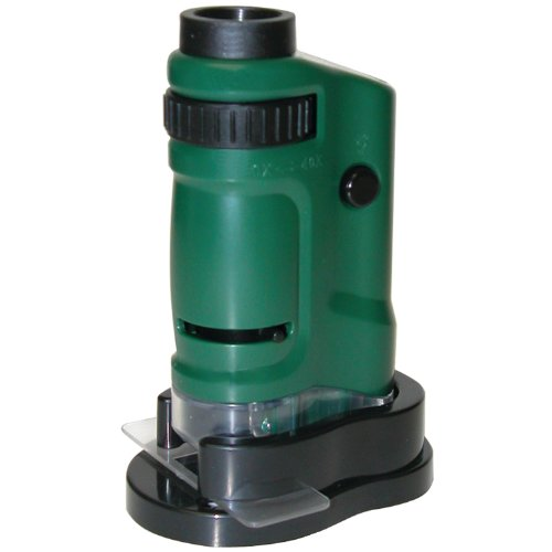 Carson Microbrite 20X-40X Zoom Led Lighted Pocket Microscope (Mm-24)