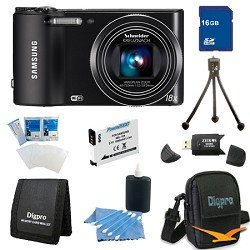 Samsung WB150F Smart Wi-Fi Digital Camera Super Bundle With 16GB Memory and more