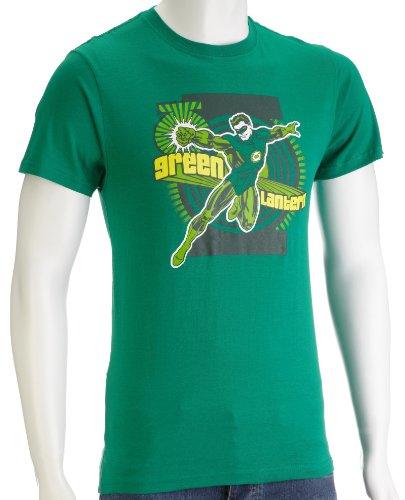 DC Comics Green Lantern First Flight Men's T-Shirt Green DC016GS Small