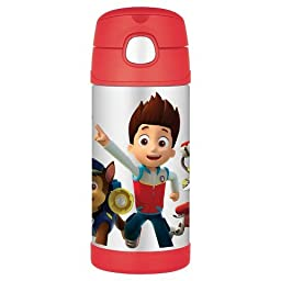 12oz Funtainer Straw Thermos Bottle PAW Patrol